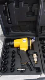 Chave de Impacto 1/2'' - 32Kg Kit 17 pçs - Pressure