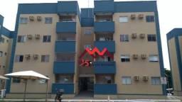 Apartamento com 2 dormitórios para alugar, 56 m² por R$ 1.100/mês - Triângulo - Porto Velh