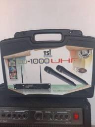 Microfone tsi UD_1000 UHF