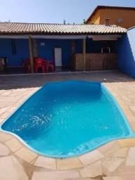 Chalés com piscina