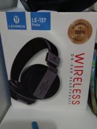 Fone De Ouvido Wireless Bluetooth Lehmox Original Le-137