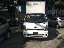 Kia Bongo K-2500 Baú 2014 Diesel Novo !!