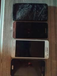 3 Samsung e 1 alcatel