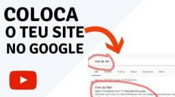Colocamos seu site no Google