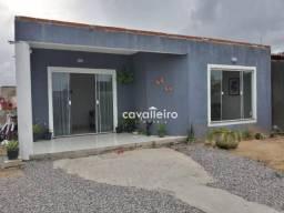 Casa com 3 dormitórios à venda, 110 m²- Jardim Atlântico Central (Itaipuaçu) - Maricá/RJ