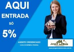 Araruama - Casa 148m² da Caixa 50% de desc. - Entrada só 5% - Use o FGTS