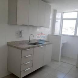 Apartamento com 1 dormitório para alugar, 50 m² por R$ 1.200,00/mês - Centro - Juiz de For