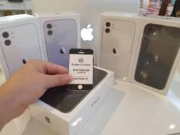 Iphone 11 c/64GB e 128GB Novos, Pego celulares na troca e divido no cartão