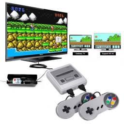 Videogame Nintendo 8 bits com 620 Jogos