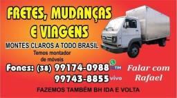 Título do anúncio: Fretes e mudanças para todo Brasil