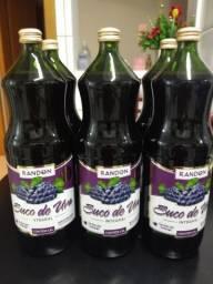 Suco de Uva Integral Tinto 100% Natural Randon