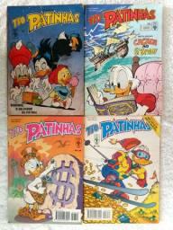 Revistas Tio Patinhas - lote com 4 unid