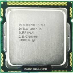 Processador Intel Core I5-760 8m Cache 2.80 Ghz Lga 115x