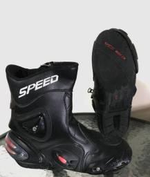 Bota de couro speed
