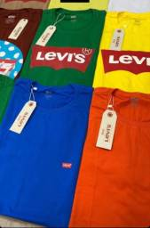 Camisetas primeira linha Levis
