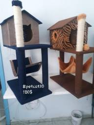Casas arranhadores para gatos