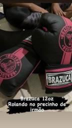 Luva boxe muay thai brazuca 12oz