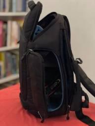 Kit Câmera Canon eos  rebel t7 com duas lentes e mochila
