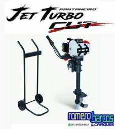 Motor de Popa Jet Turbo 3,0 HP ? 2 Tempos Meghi