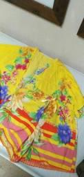 Conjunto kimono com short