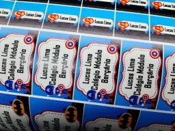 Etiquetas escolares personalizadas 110 unidades