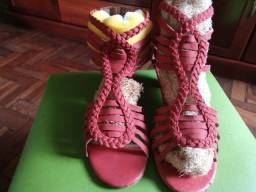 Título do anúncio: Sandália Bottero Vermelha - Tamanho 35
