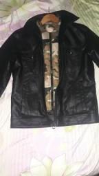 Jaqueta de couro sintético Nova.
