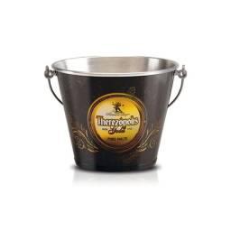 Balde De Gelo Em Alumínio Cerveja Therezópolis Gold Original