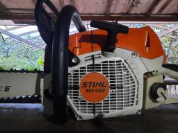 Vendo este motor serra stihl 462 semi novo não tem nem um mês de uso