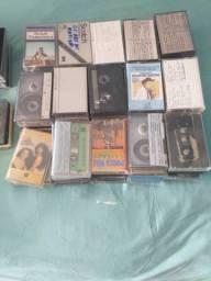 Vendo som e varias fitas, cds, lp