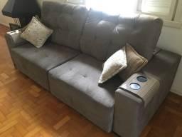 Sofa com chaise seminovo