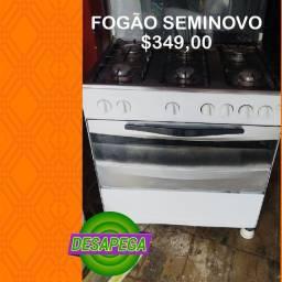 FOGÃO 5 BOCAS SEMINOVO