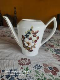 Bule para chá, sem tampa, antigo, porcelana pozzani