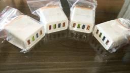Carregador USB 3.0 Quatro entradas (unidade)