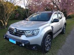 Renault Duster Iconic Prata 1.6 CVT 2022 baixo km 6500