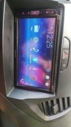 Multimídia Pioneer novo completo pega USB DVD e Bluetooth completo
