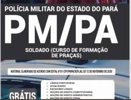 Apostila PM Pará 2021 tempo (Limitado) com desconto R$ 10,00
