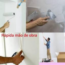 PINTOR RÁPIDA MÃO DE OBRA