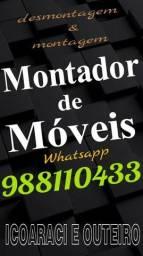 MONTADOR DE MÓVEIS ICOARACI E PROXIMIDADES.