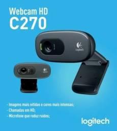 Webcam Logitech Usb Hd C270 Produto Novo Original Lacrado.