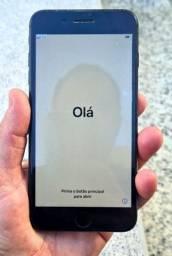 iPhone 8 Plus, 64GB, Cinza. Oportunidade