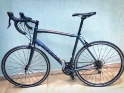 Bike de rodovia fuji l58 shimano tiagra