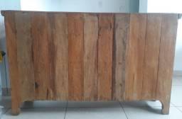 Vendo balcão de madeira - semi novo