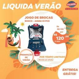 Jogo Brocas Pontas 33 Pecas 2a8mm Bosch X33 ? Entrega grátis