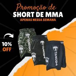 Bermudas de Muay Thai e MMA