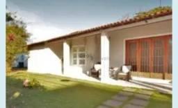 Linda casa com 4 suítes, área de lazer, pomar e lindo jardim, à venda por R$ 1.100.000 - J