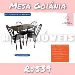 Mesa mesa mesa mesa mesa 4 cadeiras  GOIÂNIA
