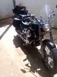 Moto custom  Dragstar 2007