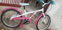 Vendo Bicicleta infantil Caloi da Barbie