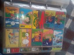Coleção cartão telefônicos